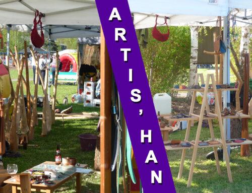 10, 11, 12 & 13 mai – Artis'Han – Grand Marché Artisanal