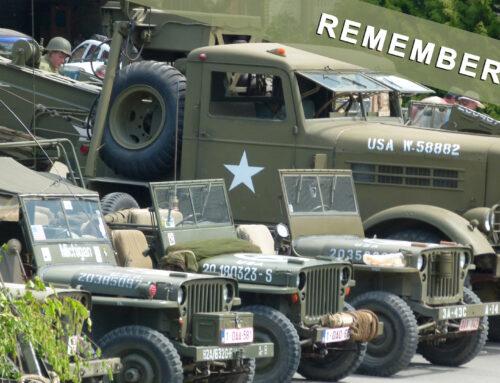 Samedi 12 mai 2018 – Défilé et exposition de véhicules militaires