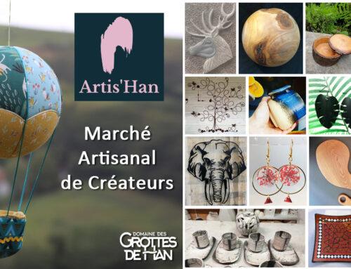 Artis'Han – Marché artisanal de créateurs